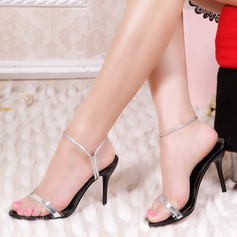 Vrouwen Patent Leather Stiletto Heel Sandalen Pumps Slingbacks schoenen