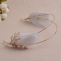 Beau Alliage/Feather Tiaras