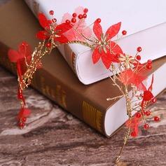 Filles Gentil Alliage/Fleur en soie Tiaras
