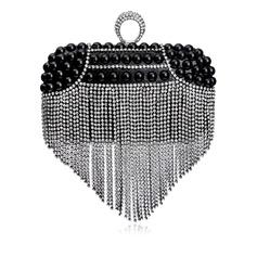 Elegant Crystal/ Rhinestone/Imitation Pearl Clutches
