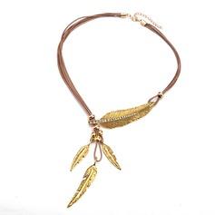 Unik Legering Kvinnor Mode Halsband (Säljs i ett enda stycke)