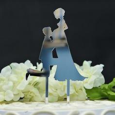 Bebé en camino Acrílico Decoración de tortas