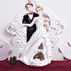 O Recém-casados Resina Casamento Decorações de bolos