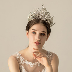 Ladies Gorgeous Alloy Tiaras (Sold in single piece)