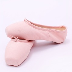 De mujer Lona Planos Pointe zapatos Zapatos de danza