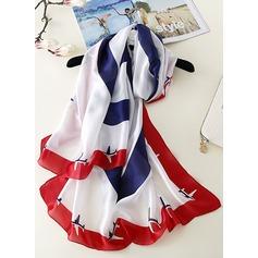 Blomster/Retro /Årgang/Country Style Letvægts/Oversized Halstørklæde