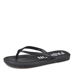 Kvinnor Konstläder Flat Heel Sandaler Platta Skor / Fritidsskor Slingbacks Flip Flops skor