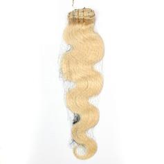 4A Nicht remy Körper Menschliches Haar Tape in Haarverlängerungen 20PCS