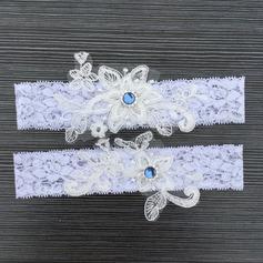 2-Х частей/Изящные свадьба Подвязки