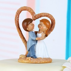 Classic Couple Cake Topper