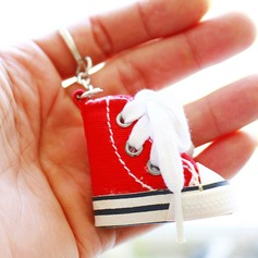 Charmant Deign de chaussure Plastique Portes-clés (Vendu en un seul)