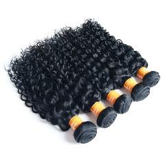 4A Ej remy Kinky Curly människohår Våg av människohår (Säljs i ett enda stycke) 100g