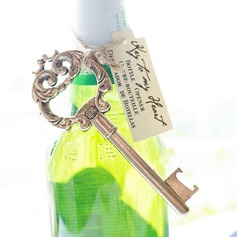 Antique Gold Key to My Heart Bottle Opener