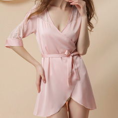 Свадебная/женственный великолепный полиэстер пижама