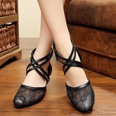 Women's Mesh Pumps Ballroom Dance Shoes