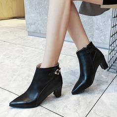 Femmes PU Talon bottier Escarpins Bottes أحذية