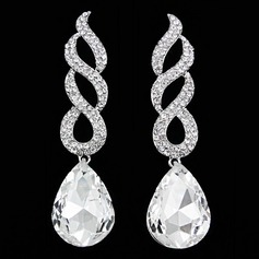 Shining Alloy With Rhinestone Women's Fashion Earrings (137135755)
