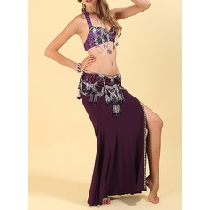 Vrouwen Danskleding Polyester Buikdans Outfits