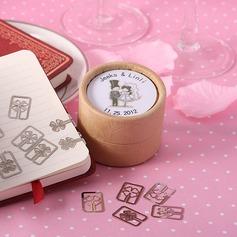 Personalizado Noiva e Noivo Papel de alta qualidade Marcadores e Abre Cartas (conjunto de 20)