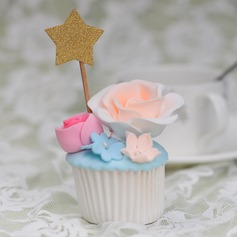 Star Cake Topper (Set of 10)