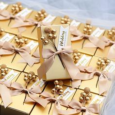 Klassische Art Cubic Karton Papier Geschenkboxen