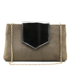 Fashional Velvet/PU Clutches