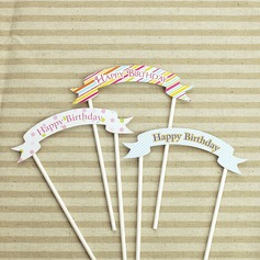 Papier Taarttoppers