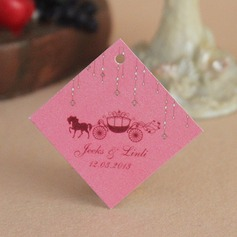 Personalized Carriage Hard Card Paper Tags (Set of 30)