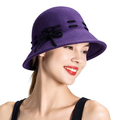 Ladies ' Classic/Enkle Uld Bowler / Cloche Hat