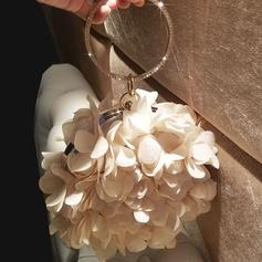 Elegant Silke Grepp/Handledsväskor