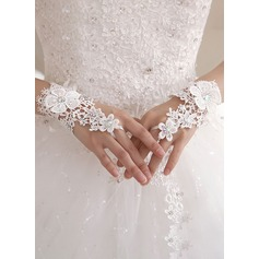 Fabric Wrist Length Bridal Gloves (014151735)