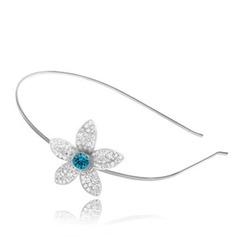 Elegant Legering med Kristall Kvinnor Hår Smycken