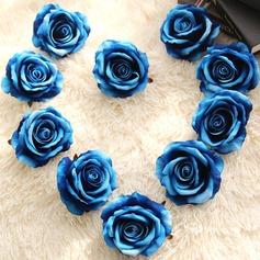 Redondo Cetim Decorações/Presentes flor (Vendido em uma única peça) -