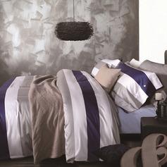 Modern / Contemporary Baumwolle Bettdecken (4 Stück: 1 Bettbezug 1 flaches Blatt 2 Shams)