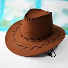Mannen Klassiek Fluwelen Cowboyhoed