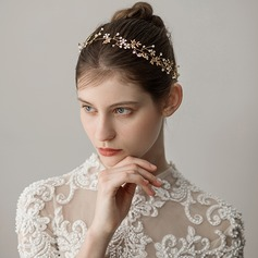Ladies Unique Alloy Headbands With Rhinestone (Sold in single piece)