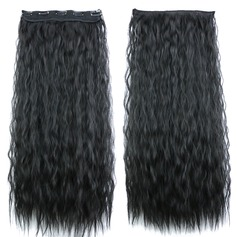 Water Wave Synthetic Hair Clip in Hair Extensions (Sold in a single piece) 80g (235147108)