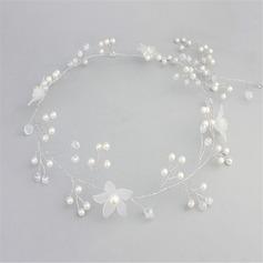 Красивая хрусталь/Перлы ложный/Матовый цветок ободки (Продается в виде единой детали)