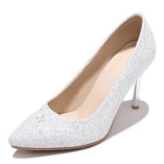 Donna Similpelle Tacco a spillo Stiletto con Paillette