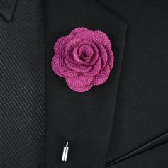 Style Classique Cuivre Polyester Broche
