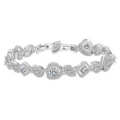 Dames Brillant Cuivre/Zircon de Bracelets