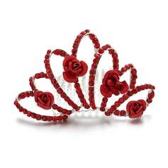 Bonito Strass/Liga Diademas/Capacete da menina flor
