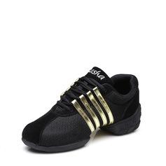 Unisex Tecido Tênnis Jazz Tênnis Tango com Aplicação de renda Sapatos de dança