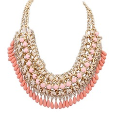Unik Legering Harts Kvinnor Mode Halsband