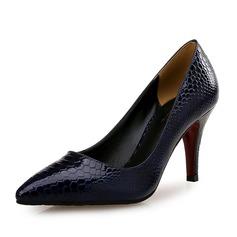 Vrouwen Kunstleer Stiletto Heel Pumps met Dier Afdrukken schoenen