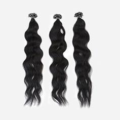 4A Nicht remy Wasserwelle Menschliches Haar Tape in Haarverlängerungen 50 Stränge pro Packung 50g