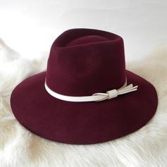 Damene ' Nydelig Ull Stiv / Cloche Hatt