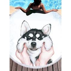 hund överdimensionerad/attraktiv handduk