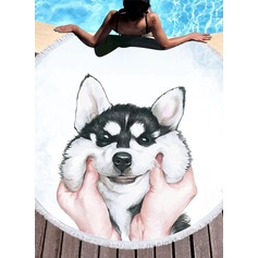 hund Oversized/attraktiv Strand håndkle