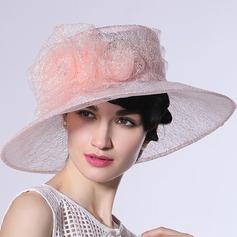 Ladies' Beautiful/Fashion/Glamourous/Elegant/Unique/Amazing/Eye-catching/Charming/Fancy/Romantic/Vintage Organza Beach/Sun Hats